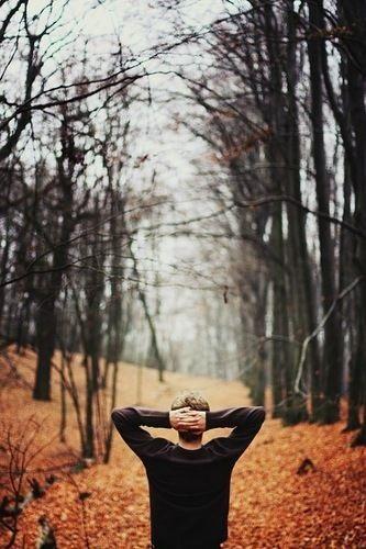 Фото в лесу осенью идеи (19)
