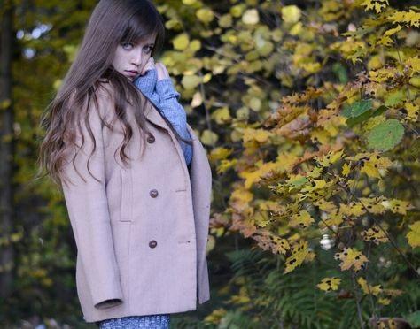 Фото в лесу осенью идеи (20)