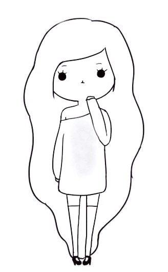 Чорно білі картинки для ЛД (22)