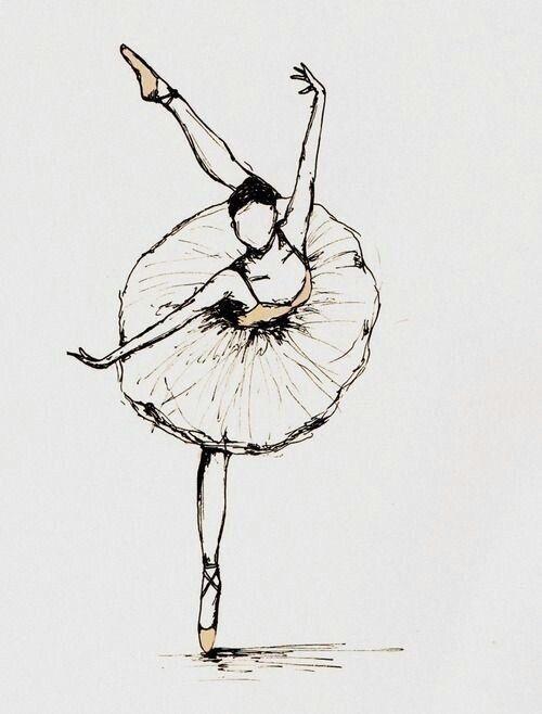 Эскиз балерины картинки (4)