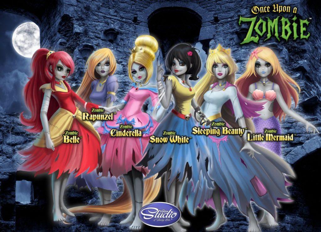 Арты принцессы зомби (1)
