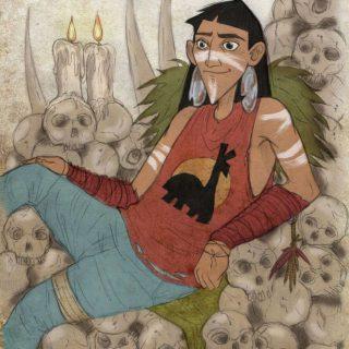 Арты принцессы зомби (12)