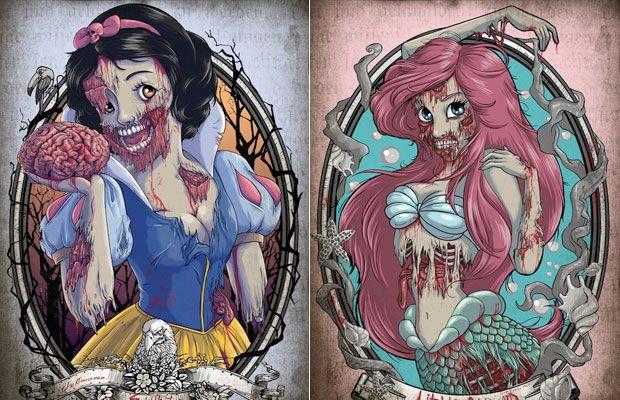 Арты принцессы зомби (13)