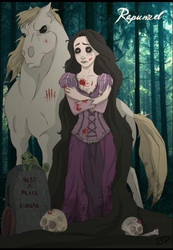 Арты принцессы зомби (15)