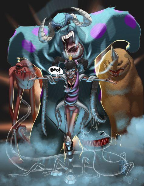 Арты принцессы зомби (19)