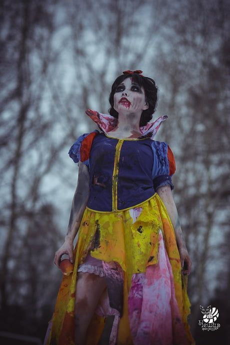 Арты принцессы зомби (21)