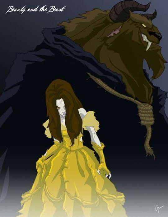 Арты принцессы зомби (22)
