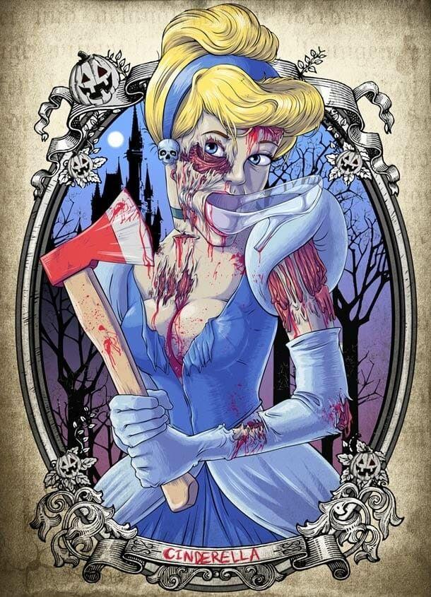 Арты принцессы зомби (7)