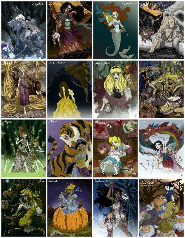 Арты принцессы зомби (8)