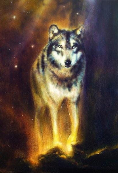 Волк красивые картинки (14)