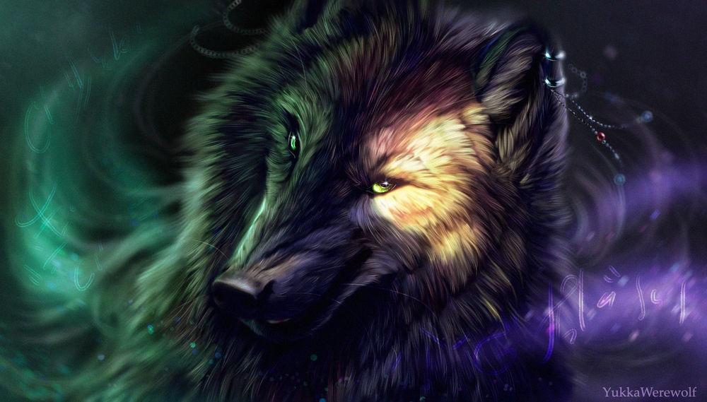 Волк красивые картинки (3)