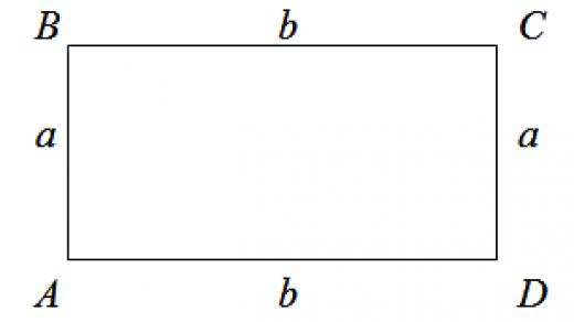 Как узнать периметр прямоугольника