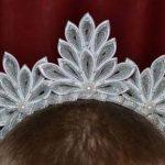 Канзаши новогодняя корона