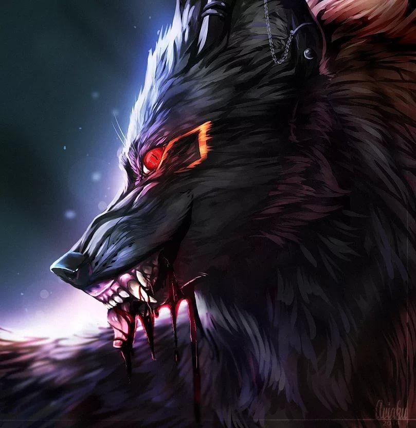 Картинки волк на аву (16)