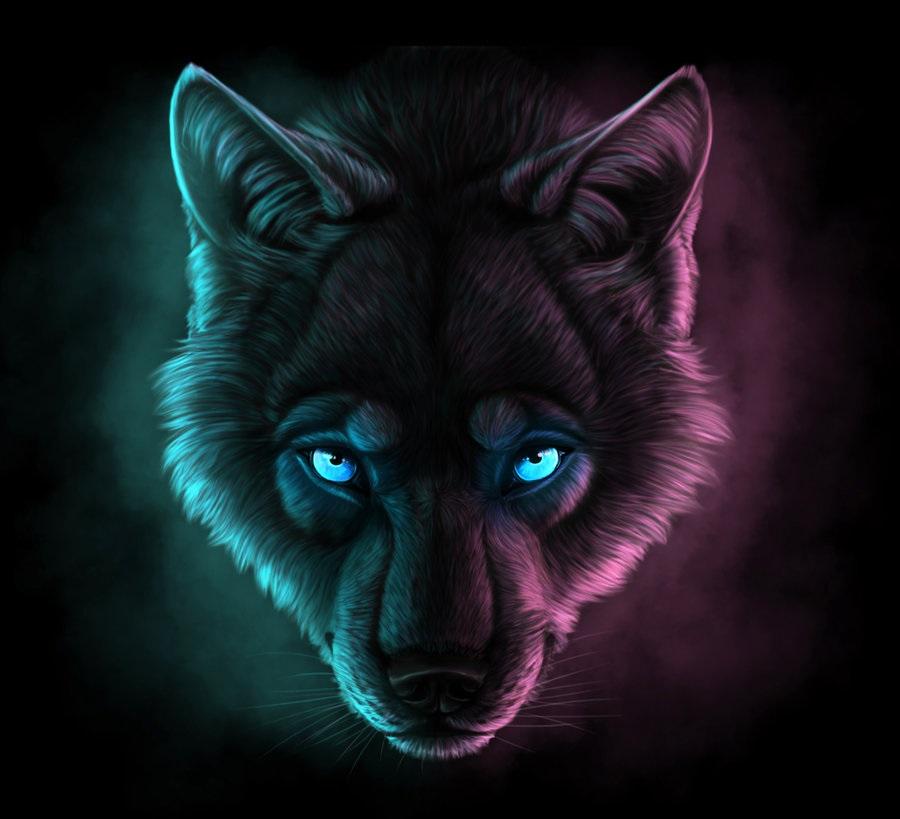Картинки волк на аву (19)