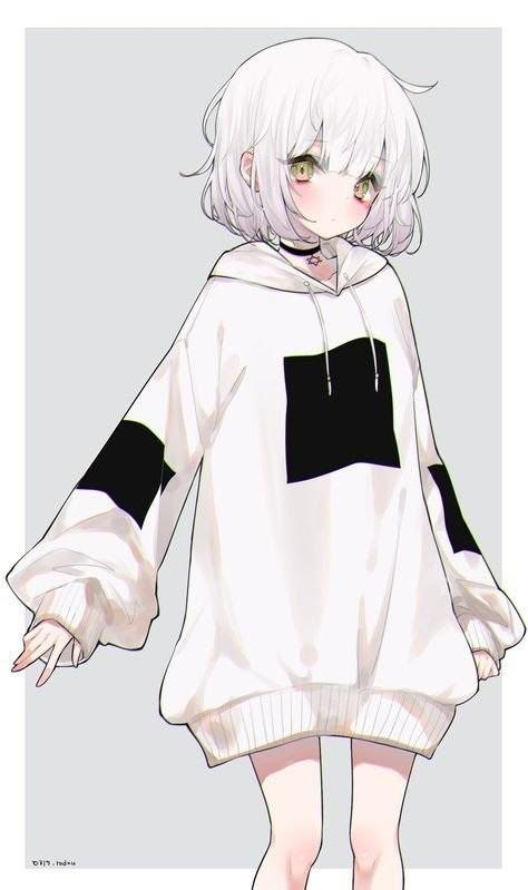 Картинки милых девушек аниме на аву (23)