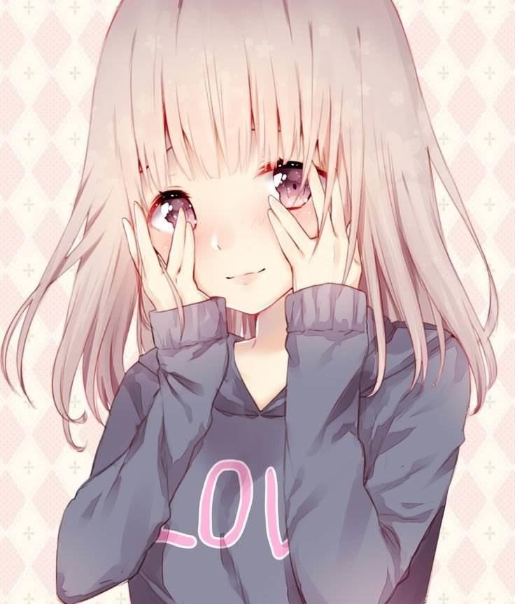 Картинки милых девушек аниме на аву (6)