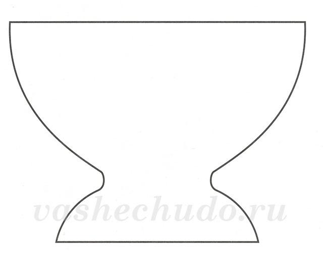 Картинки шаблон вазы для цветов (18)