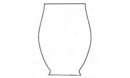 Картинки шаблон вазы для цветов (28)