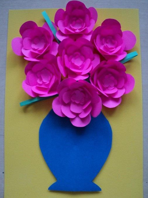 Картинки шаблон вазы для цветов (4)