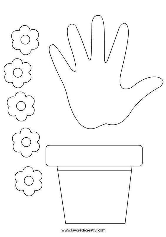 Картинки шаблон вазы для цветов (9)