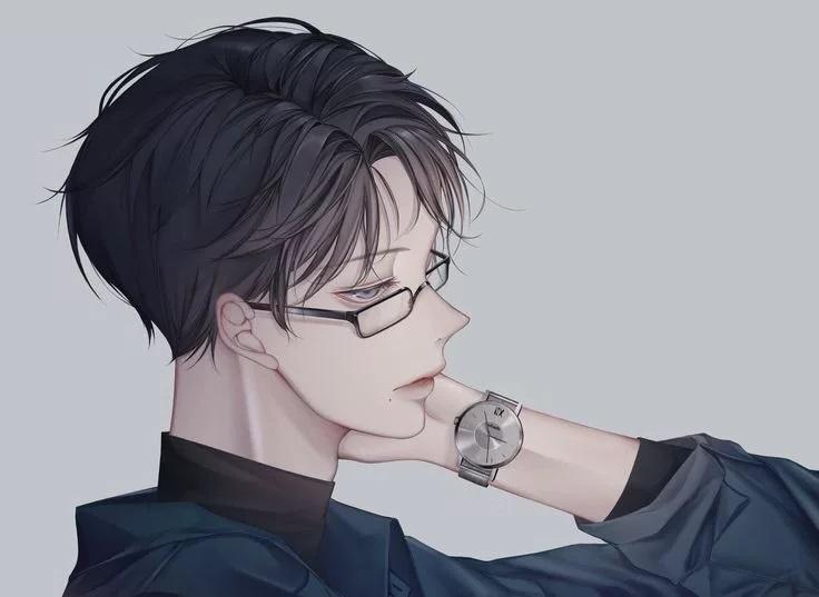 Красивые аниме арты парней 2020 год (7)