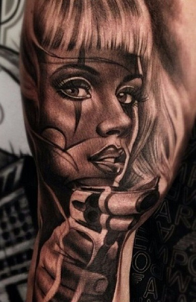 Красивые мексиканские татуировки (10)