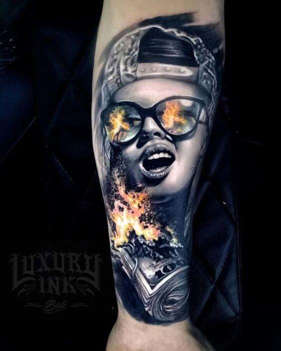 Красивые мексиканские татуировки (12)