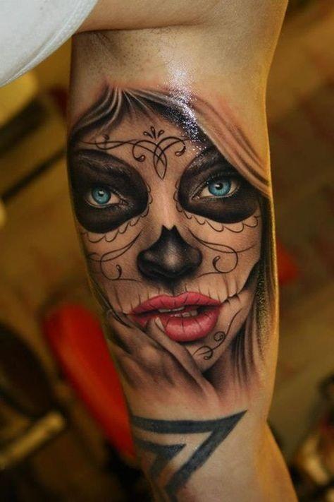 Красивые мексиканские татуировки (13)