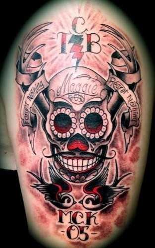Красивые мексиканские татуировки (17)