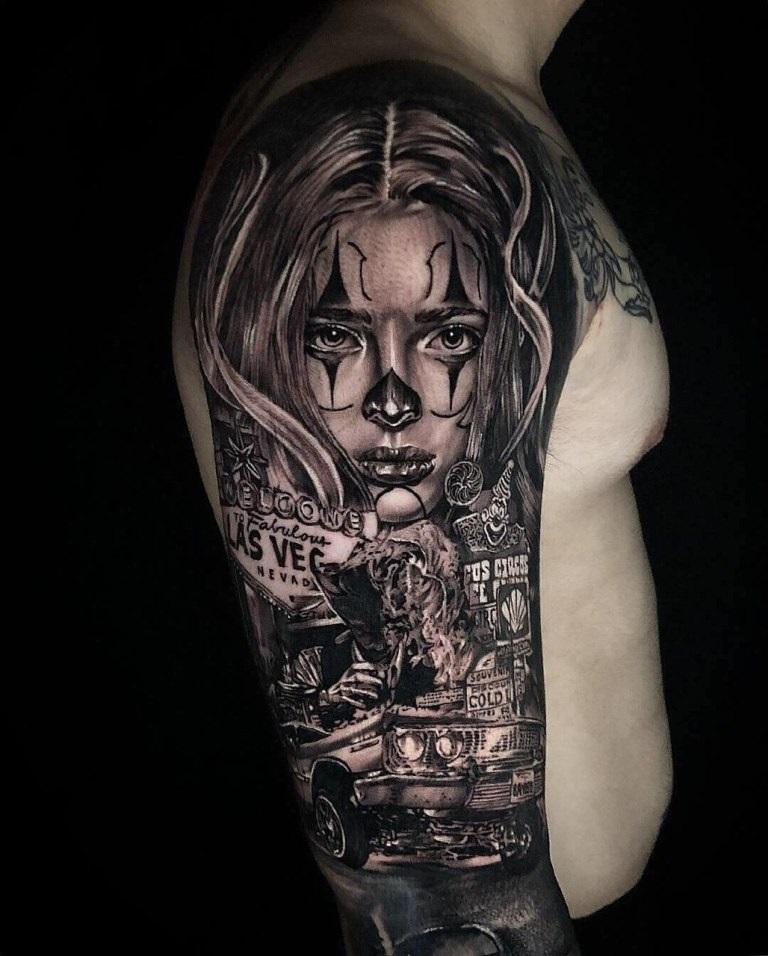 Красивые мексиканские татуировки (18)