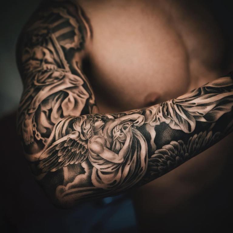 Красивые мексиканские татуировки (2)