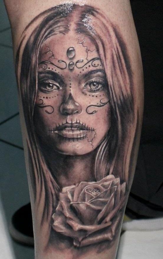 Красивые мексиканские татуировки (21)