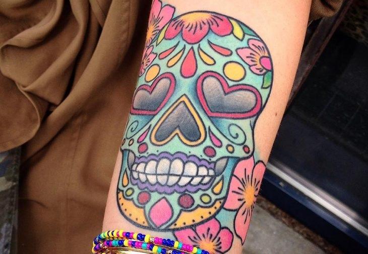 Красивые мексиканские татуировки (24)