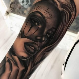 Красивые мексиканские татуировки (25)