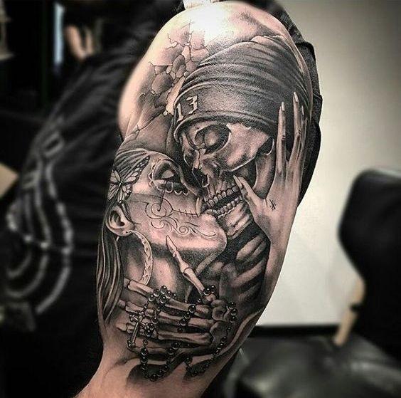 Красивые мексиканские татуировки (3)