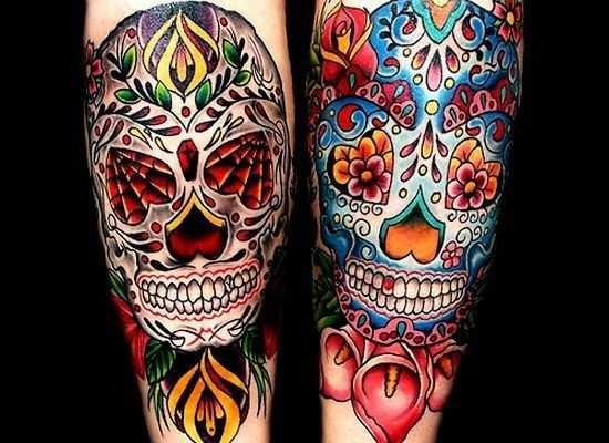 Красивые мексиканские татуировки (9)