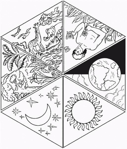 Красивые рисунки сотворение мира (16)