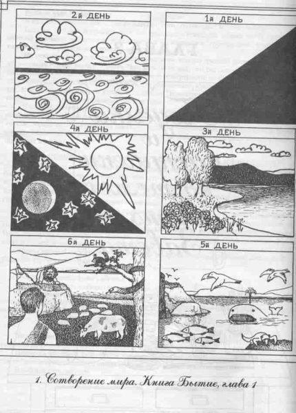 Красивые рисунки сотворение мира (21)