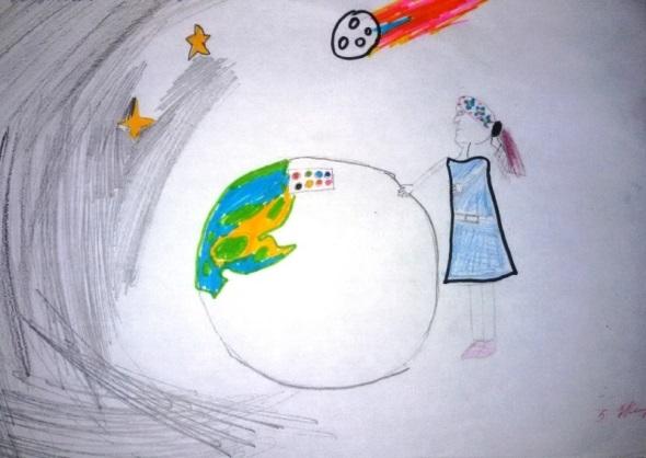 Красивые рисунки сотворение мира (8)