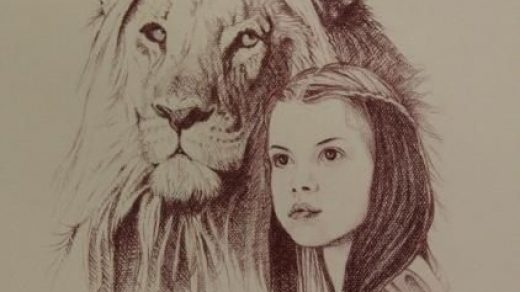 Красивый рисунок карандашом Хроники Нарнии (11)