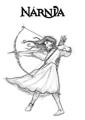 Красивый рисунок карандашом Хроники Нарнии (12)