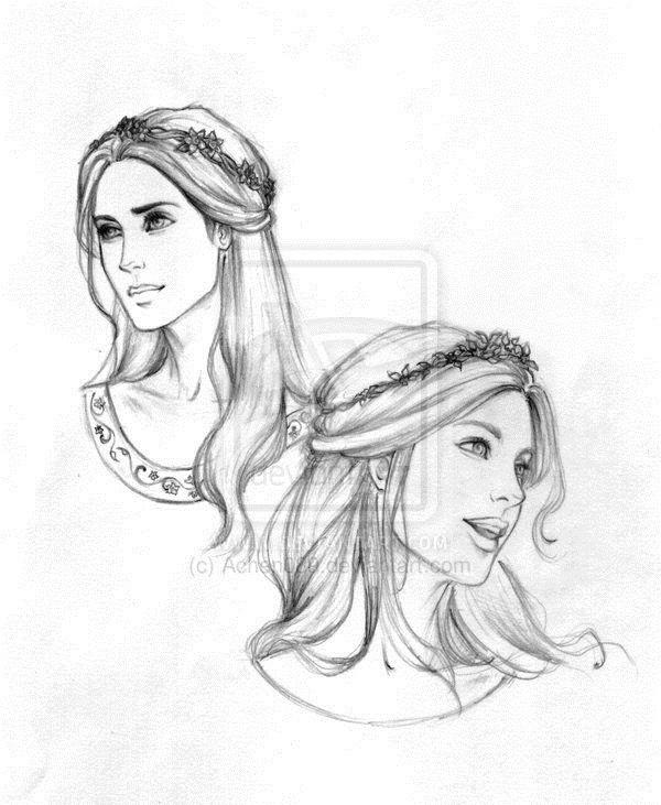 Красивый рисунок карандашом Хроники Нарнии (13)