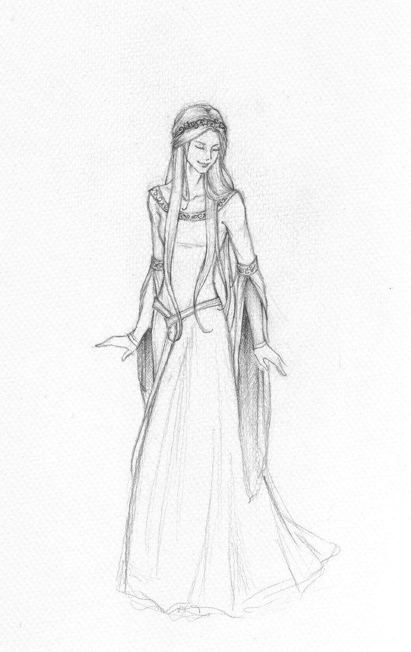 Красивый рисунок карандашом Хроники Нарнии (14)