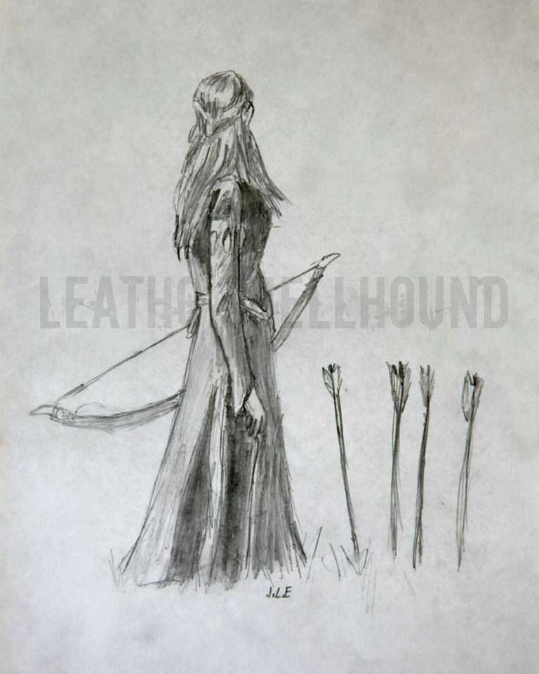 Красивый рисунок карандашом Хроники Нарнии (15)