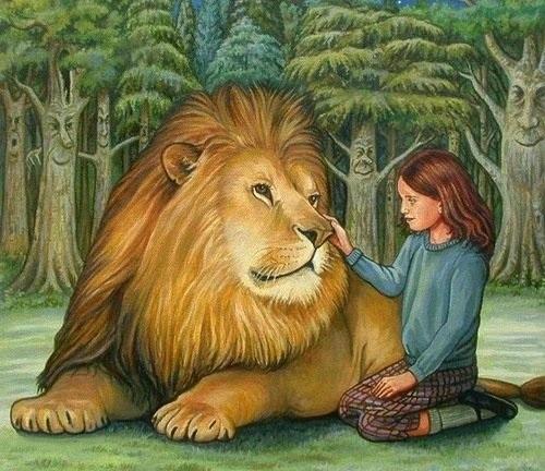 Красивый рисунок карандашом Хроники Нарнии (17)