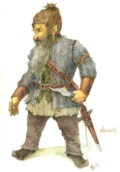 Красивый рисунок карандашом Хроники Нарнии (4)