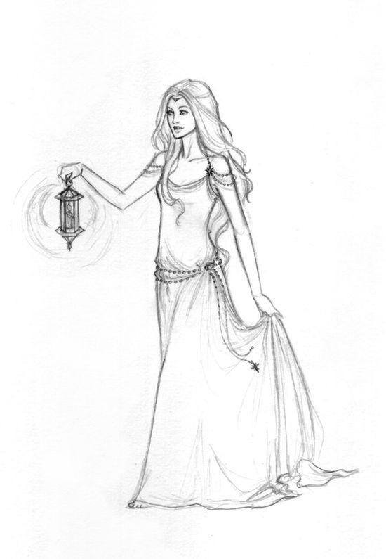 Красивый рисунок карандашом Хроники Нарнии (8)