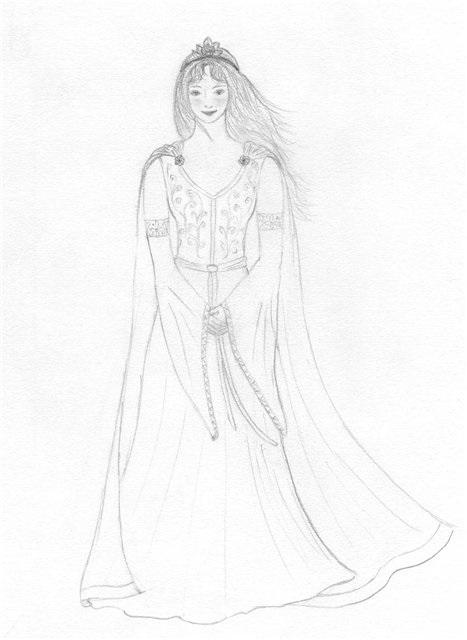 Красивый рисунок карандашом Хроники Нарнии (9)