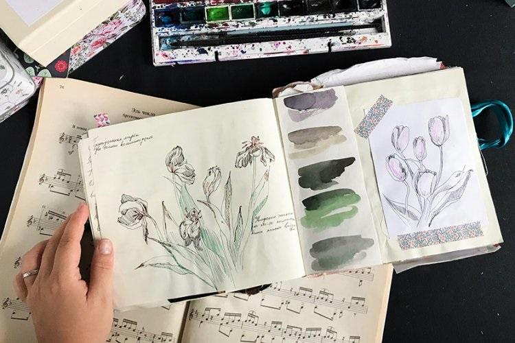 Лучшие картинки идеи для артбука (15)
